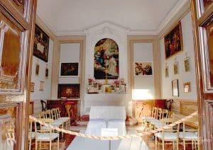 Villa Corsini a Mezzomonte - Cappella - Private Chapel - Sant Andrea Corsini