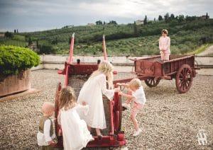 Villa Corsini a Mezzomonte - Carri di Fattoria - Vintage Cart
