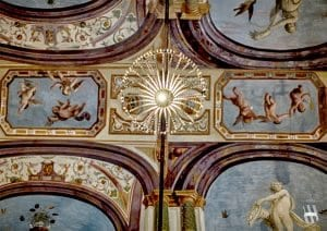 Villa Corsini a Mezzomonte - Particolare Affreschi - Tuscan Fresco Detail - Pandolfo Sacchi