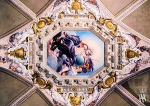 Villa Corsini a Mezzomonte - Particolare Affreschi - Tuscan Fresco Detail - Francesco Albani